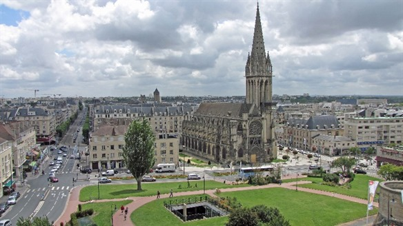 Caen (about 1¼ hrs)  -  90 km